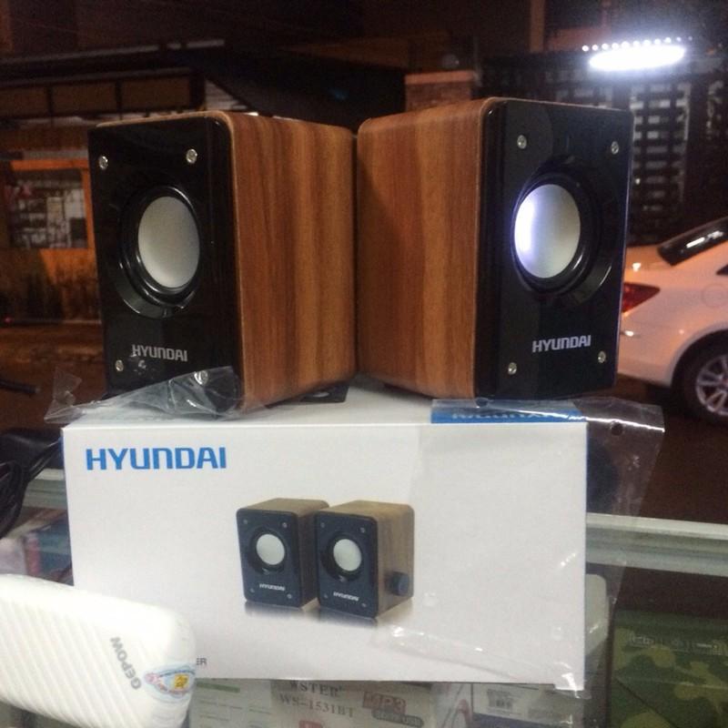 Loa  vi tính điện thoại Hyundai giả gỗ – Chính hãng 4