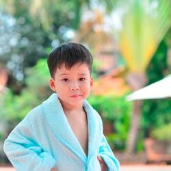 Áo Choàng Tắm Mollis Trẻ Em ACE4 - 78cm .