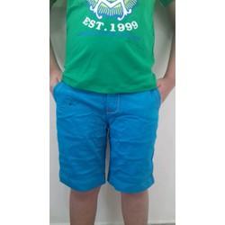 quần short kaki bé trai size trung