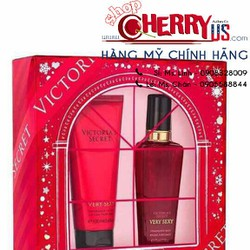 Gift Set VS Body Mist nước hoa + Lotion Very Sexy
