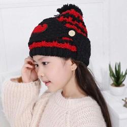 Mũ len kèm khẩu trang cho bé