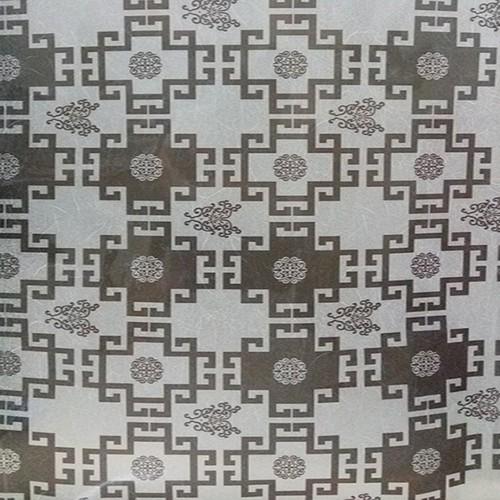 Combo 5m decal dán kính họa tiết vuông đen BINBIN DK12
