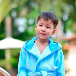 Áo Choàng Tắm Mollis Trẻ Em ACE8 - 70cm