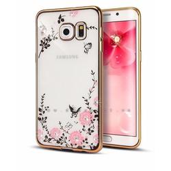 Ốp lưng Samsung S7 dẻo hình hoa