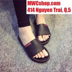 Dép sandal nữ màu đen giá rẻ
