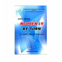 Giáo trình nguyên lý kế toán lý thuyết, bài tập và bài giải