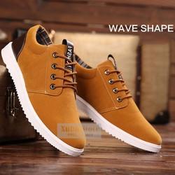 giày nam thời trang phong cách hàn quốc PJF17 - nâu