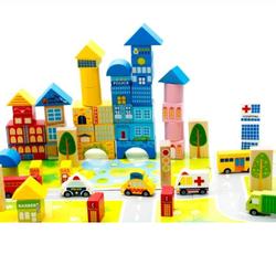 Đồ chơi gỗ, xếp hình quy hoạch đô thị