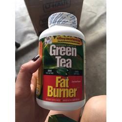 giảm cân Green tea fat burner Mỹ