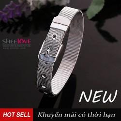 Vòng tay bac dây đồng hồ nữ cổ điển xinh xắn đẹp cá tính CH237