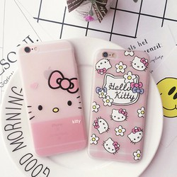 Ốp dẻo Hello Kitty iphone 6, 6s