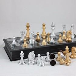 bàn cờ vua, cờ vua nam châm, đồ chơi trí tuệ cho bé