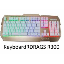 bàn phím RDRAGS R300 USB DÂY DÙ CỰC CHẮC
