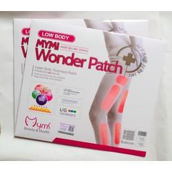 Hộp 18 Miếng dán thon đùi Mymi Wonder Patch Korea