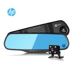 Camera hành trình gương HP F760G Dual + Thẻ nhớ 16G