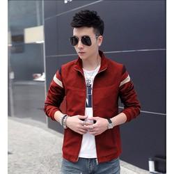 Áo khoác dù nam sọc tay phối màu - KB064B