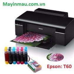 MÁY IN PHUN MÀU EPSON T60 + dẫn mực dye uv - 30112016