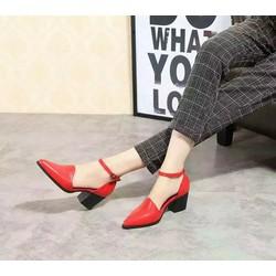 Giày cao gót mũi nhọn kiểu dáng sang trọng,trẻ trung,đẹp NEW