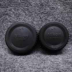 Bộ Cap Body + Cap Đuôi Lens Nikon