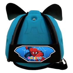 Mũ bảo vệ đầu cho bé BabyGuard Xanh Ngọc logo Spider Man