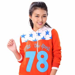 Áo Khoác Nữ Cổ Chui Lucky Star