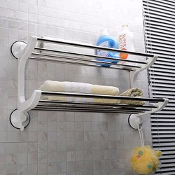 Giá để đồ 2 tầng trong nhà tắm tiện ích