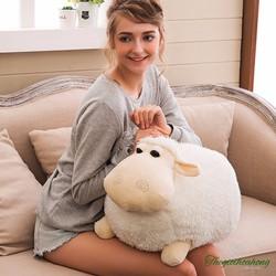 Thú bông cừu tròn cute