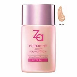 Kem nền ZA Perfect Fit Liquid Foundation SPF17 PA++ OC0W