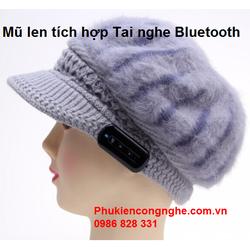 Mũ len thời trang tích hợp Tai nghe Bluetooth cao cấp