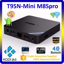 TIVI BOX MINI M8S PRO AMLOGIC S905X RAM 2GB android 6.0