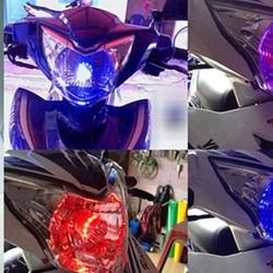 Đèn Fa Led Police H4 đỏ đồng