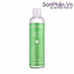 Nước hoa hồng SECRET KEY Aloe Soothing Moist Toner 248ml