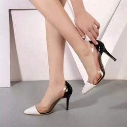 Giày cao gót đế nhọn mũi nhọn kiểu dáng sang trọng HOT