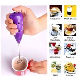 Dụng cụ tạo bọt cà phê và đánh trứng đa năng tiện dụng