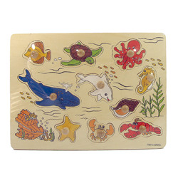 Bảng xếp hình những chú cá đại dương