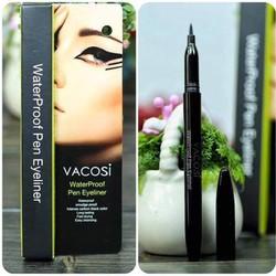 Bút kẻ mắt nước Vacosi Waterproof Pen Eyeliner