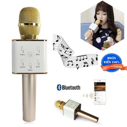 Micro karaoke tích hợp loa bluetooth Q7 thế hệ mới
