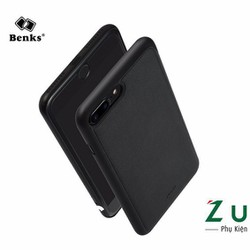 Ốp lưng da viền dẻo iPhone 7 Plus hiệu Benks cao cấp