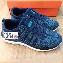 Giày Sneaker Nam FlyKnit Màu Thổ Cẩm Cực Chất