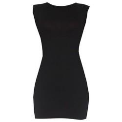Áo váy đầm thun nữ dáng ôm form dài bodycon sát nách ZENKO DAM 0065 B