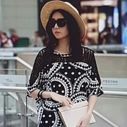 Áo thun nữ thiết kế độc đáo, phong cách sành điệu.