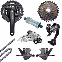 Group shimano Altus M370 9 speed