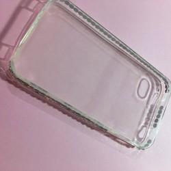 Apple iPhone 4 4S - Ốp lưng điện thoại nhựa dẻo TPU viền đính đá