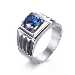 Nhẫn inox đính đá N237 cung cấp bởi WINWINSHOP88