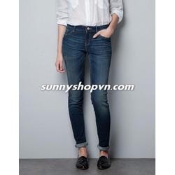Quần Zara Skinny jeans màu dark blue