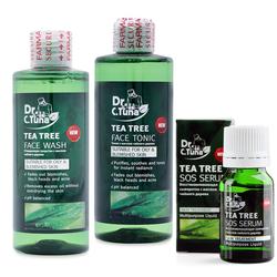 Bộ 3 SẢN PHẨM Trị mụn và ngừa mụn Farmasi Dr. C. Tuna TEA TREE