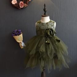 váy công chúa cho bé 2-7 tuổi