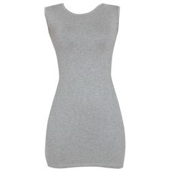 Áo váy đầm thun nữ dáng ôm form dài bodycon sát nách ZENKO DAM 0065 G