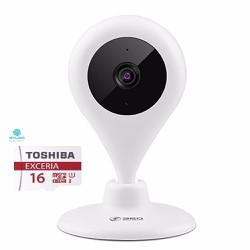 Camera quihoo 360 quan sát wifi ip HD 720 kèm thẻ 16gb class 10