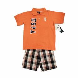 Set đồ thời trang U.S ASSN dành cho bé trai